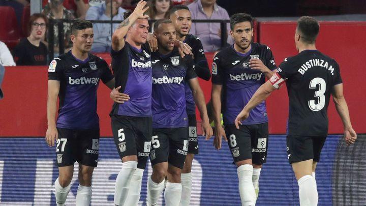 0-3. Un gran Leganés destroza al Sevilla