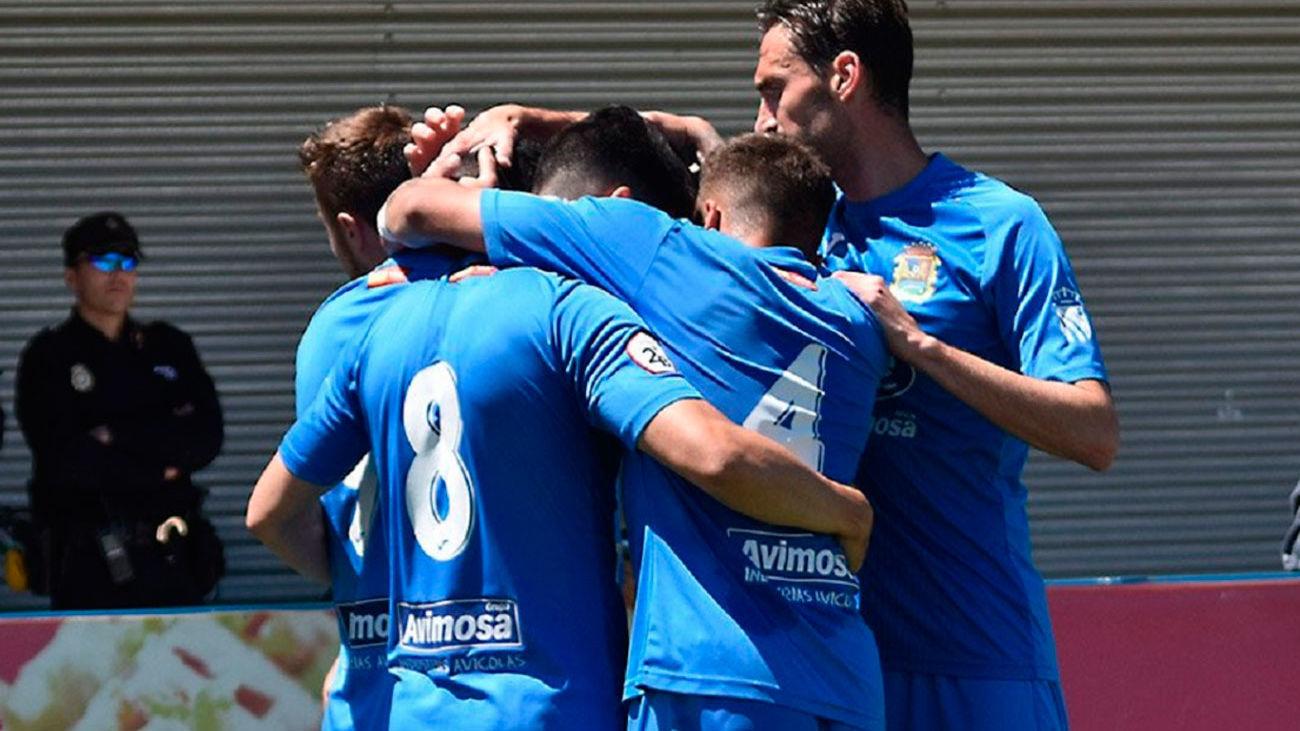 4-0. El Fuenlabrada golea al Unión Adarve