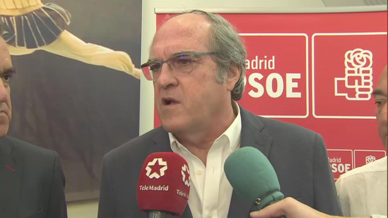 Gabilondo: el PSOE no negociará con los que quieren suprimir las autonomías