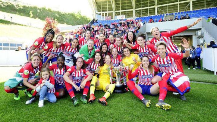 1-3. El Atlético de Madrid, tricampeón de Liga
