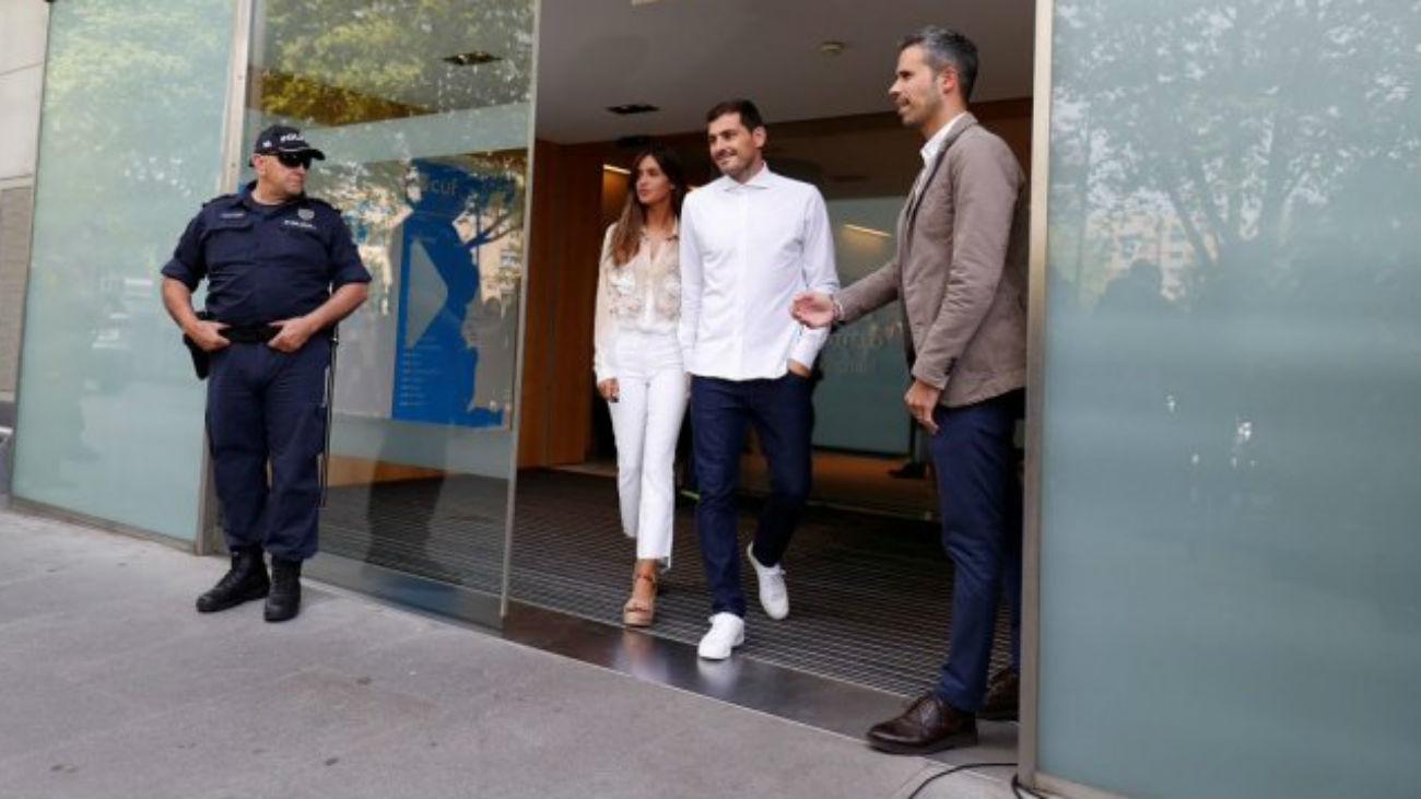 """Casillas abandona el hospital:  """"No sé lo que será de mi futuro"""""""