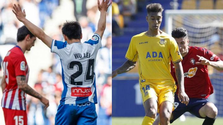 Pierde el Atleti ante el Espanyol (3-0) y empatan Alcorcón y Osasuna (0-0)