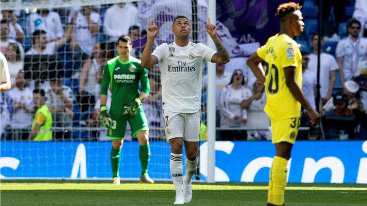 3-2. El Real Madrid supera al Villarreal con un doblete de Mariano