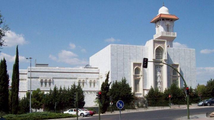 Jornada de puertas abiertas en la Mezquita de la M-30