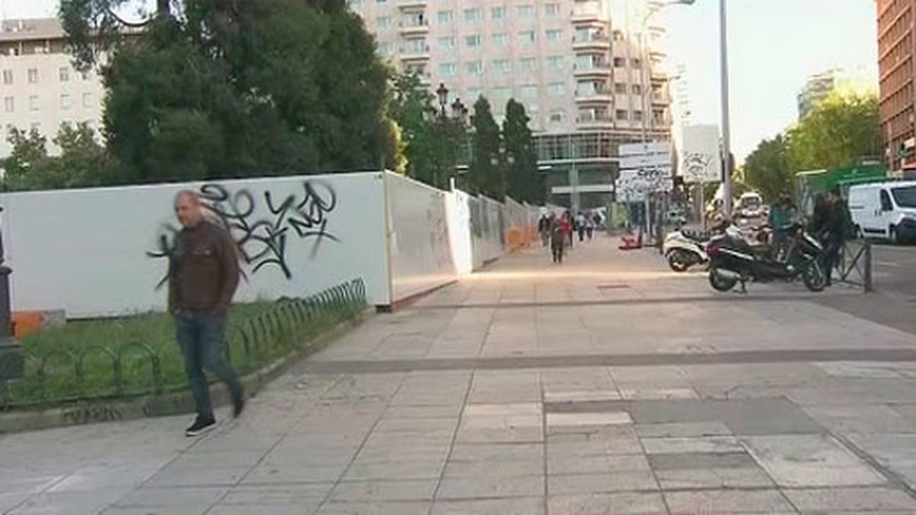 Comienzan las obras para la remodelación de la Plaza de España