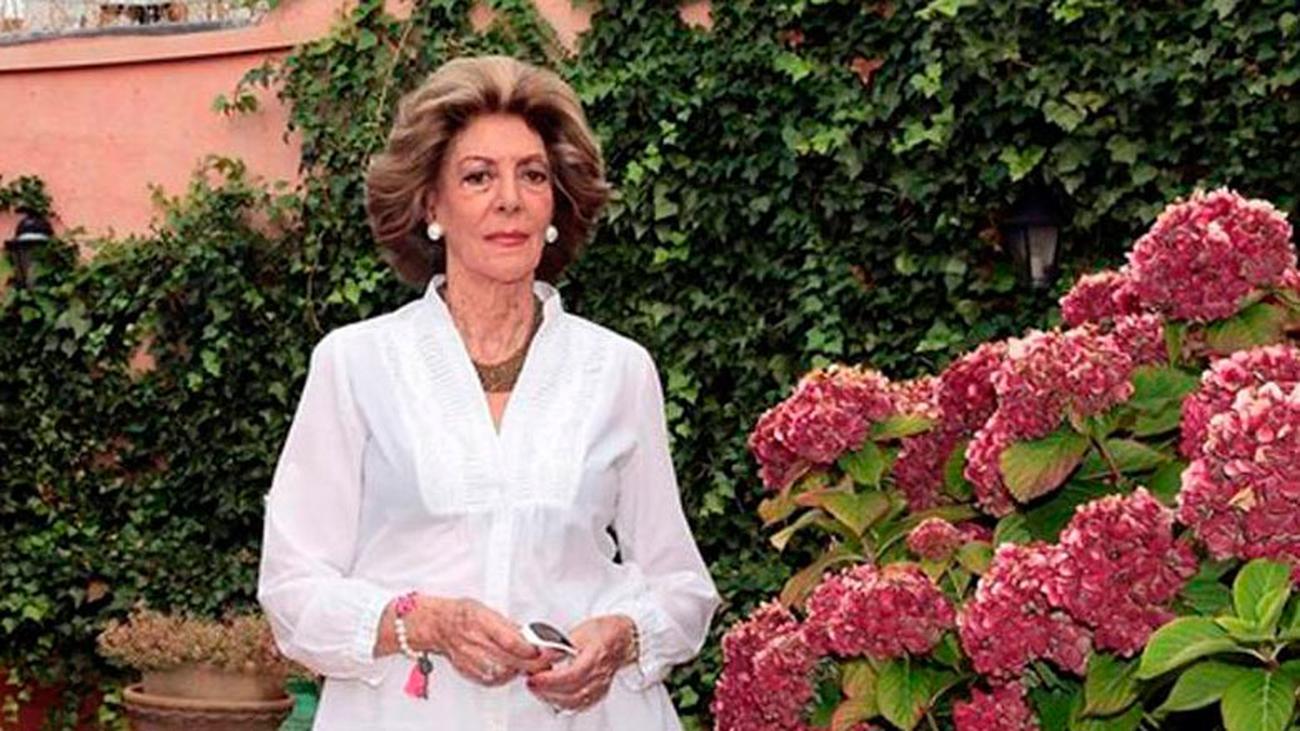 Muere 'Pitita' Ridruejo, pintora, actriz y gran dama de la sociedad española