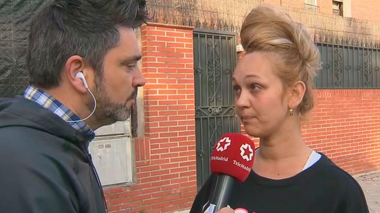 Soraya, desahuciada con sus tres hijos de la vivienda que 'okupaba' en Vicálvaro