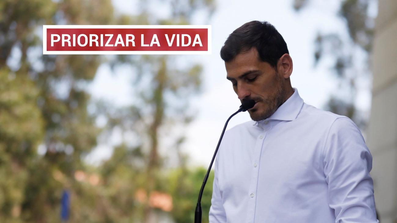 """El mensaje de Casillas tras llegar a casa: """"Gracias, mil veces gracias"""""""