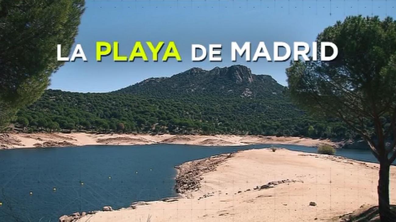 La playa de Madrid, casi lista para recibir a los bañistas