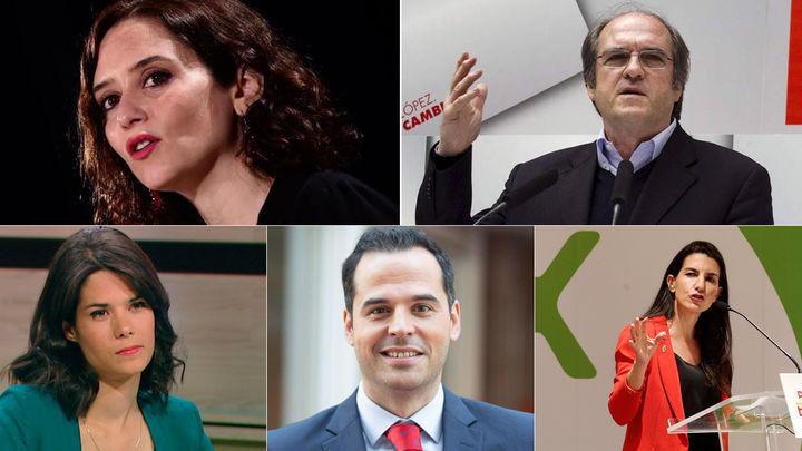 Así será el debate a cinco de los candidatos a la Comunidad de Madrid en Telemadrid
