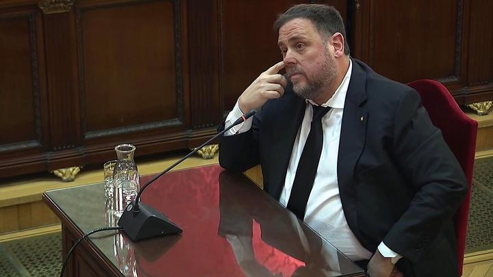 Oriol Junqueras y Jordi Sánchez piden al Supremo la libertad para ejercer como diputados