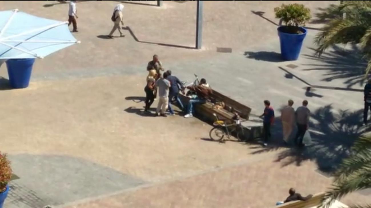 Un grupo de indigentes provoca peleas y  problemas en la zona de la estación en Torrejón de Ardoz