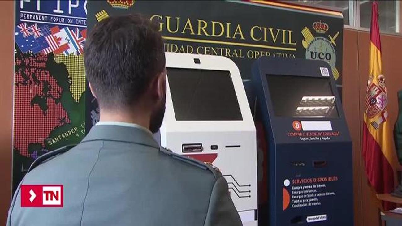 Intervenidos en Madrid por primera vez en Europa dos cajeros de Bitcoin que blanqueaban dinero de la droga