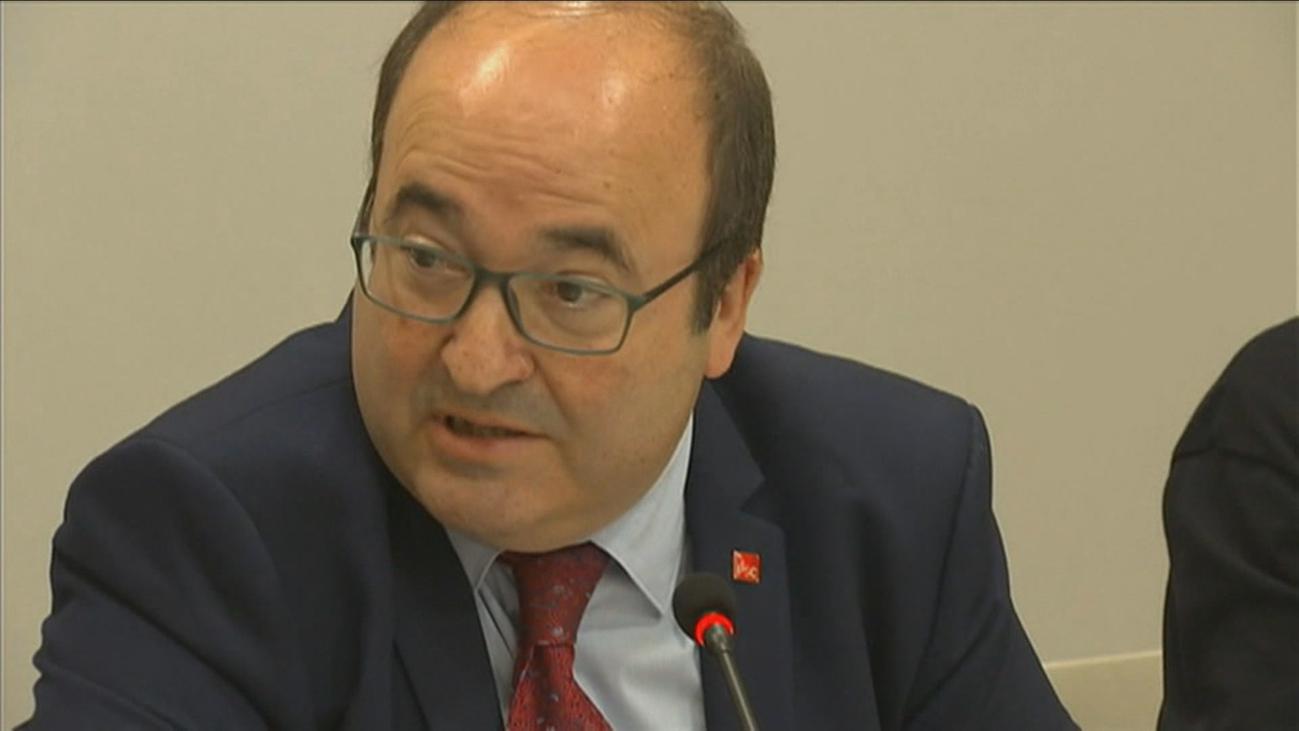 El socialista Miquel Iceta será el nuevo presidente del Senado