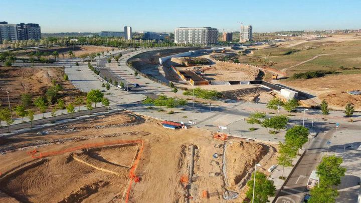 Vía libre para a la construcción del parque central de Valdebebas