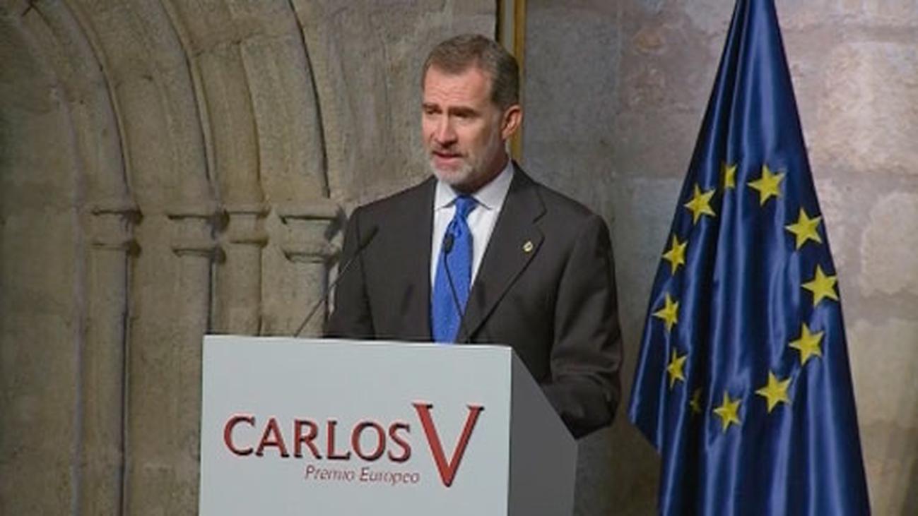 """Felipe VI defiende una Europa """"más unida, más fuerte y más efectiva"""""""