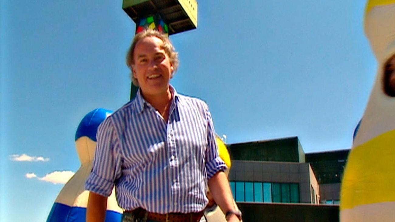 Risas y competición con Bertín Osborne en el Gran Prix