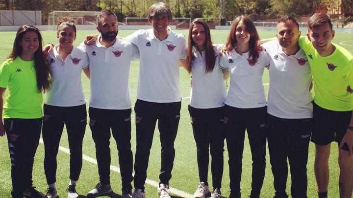 David Anazar y su equipo