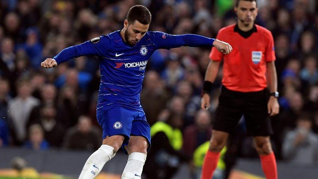 Hazard jugó su último partido en Stamford Bridge