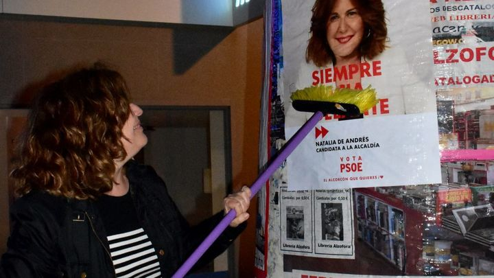 Lío en Alcorcón entre PSOE y PP en el inicio de la campaña electoral del 26-M