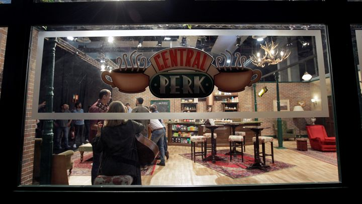 'Central Perk' de 'FriendsFest'