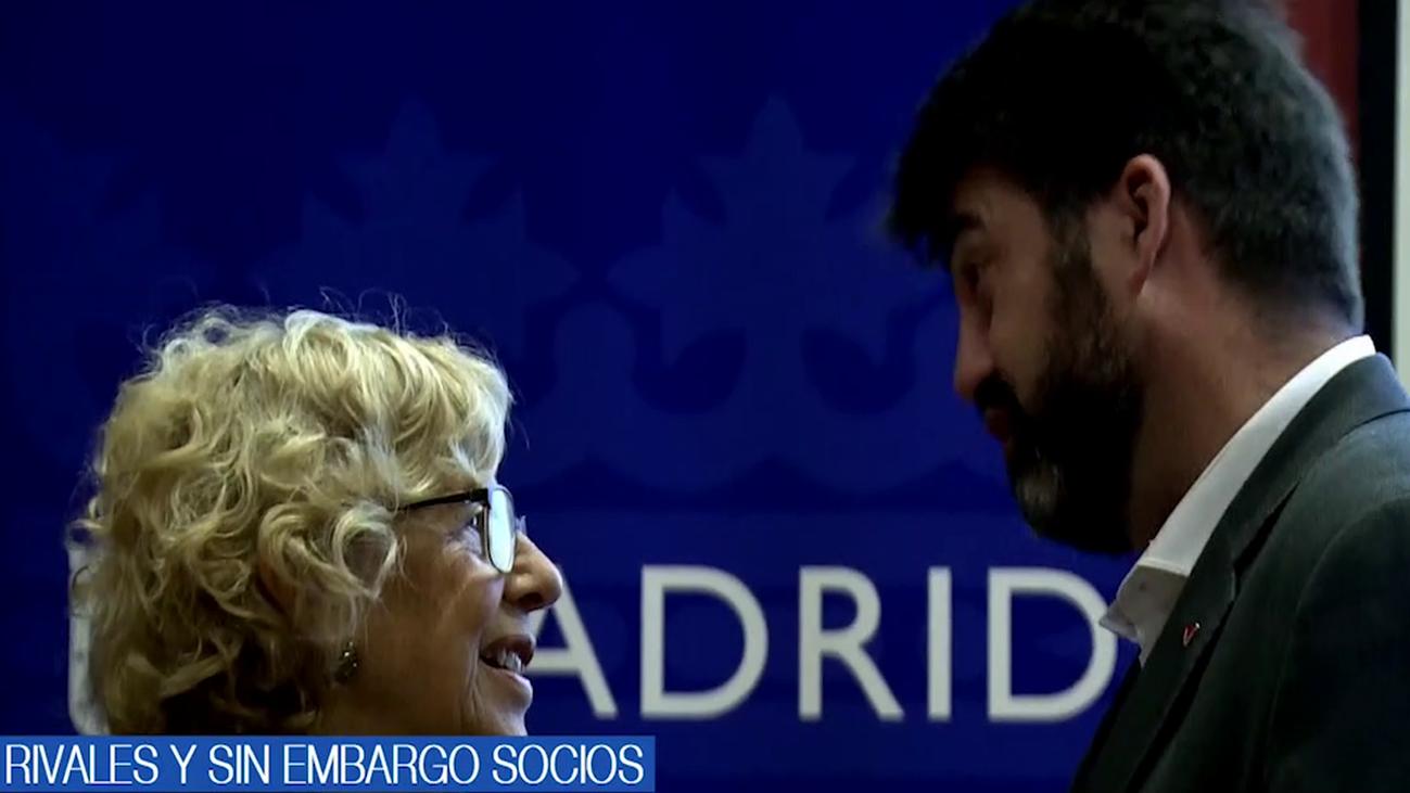 Entre la rivalidad y el pacto en Madrid para llegar a gobernar tras el 26-M