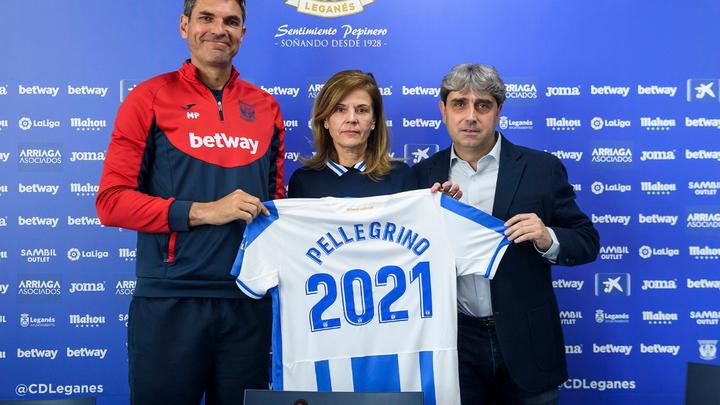 """Pellegrino:  """"En Leganés me siento un privilegiado"""""""