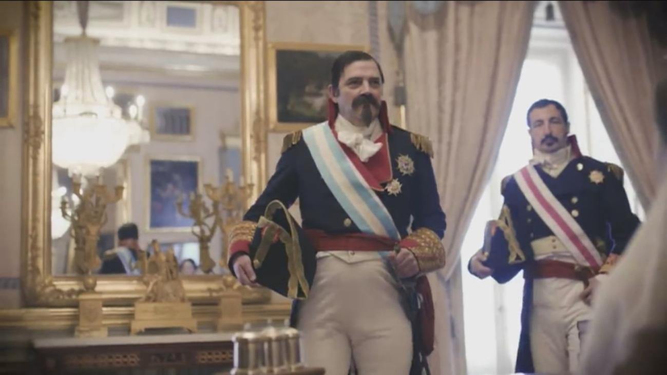 El duque de Ahumada cobra vida en el 175 aniversario de la Guardia Civil