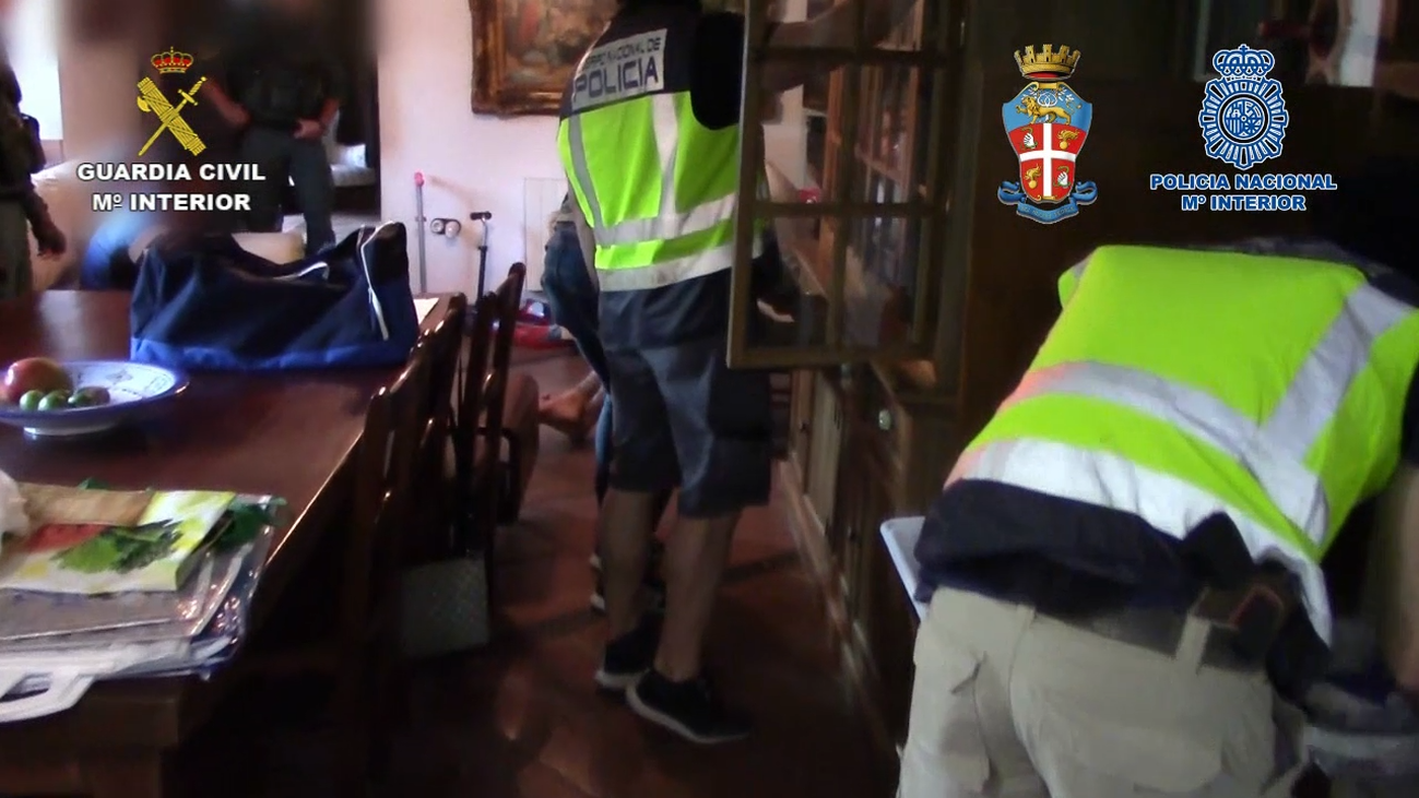 Cae una banda formada por mafiosos italianos y el 'clan de los Castañas'