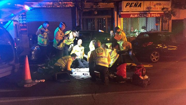 Herido grave un hombre de 40 años al ser atropellado en la calle Marcelo Usera