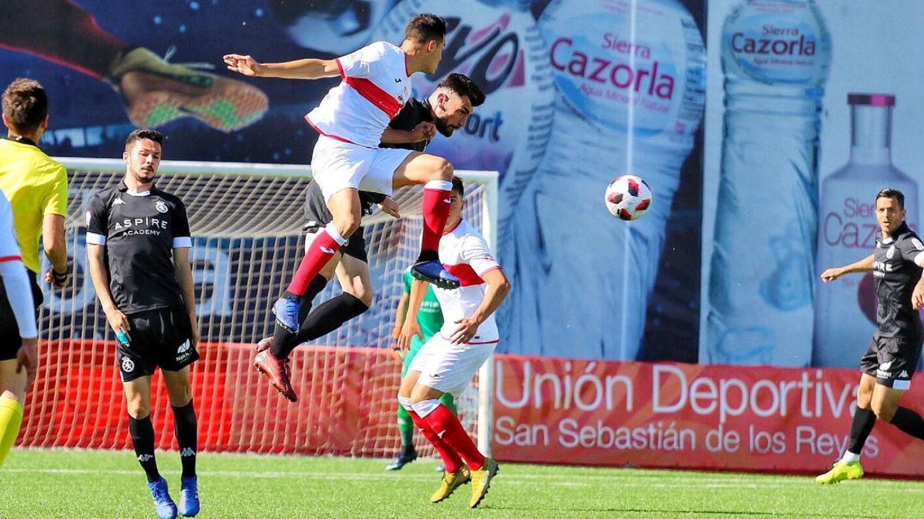 Gol de Perales, del Sanse, a la Cultural (1-0)