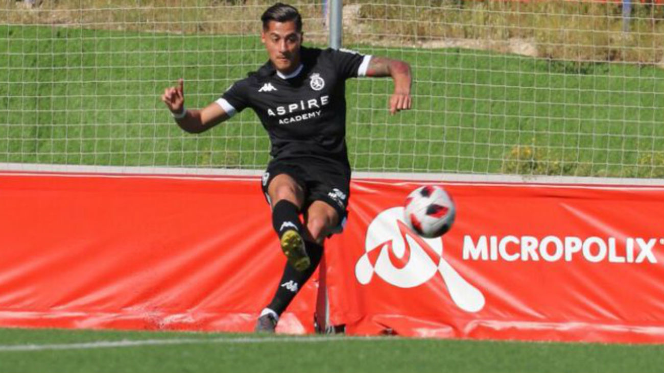 Gol de Sergio, de la Cultural, al Sanse (1-2)