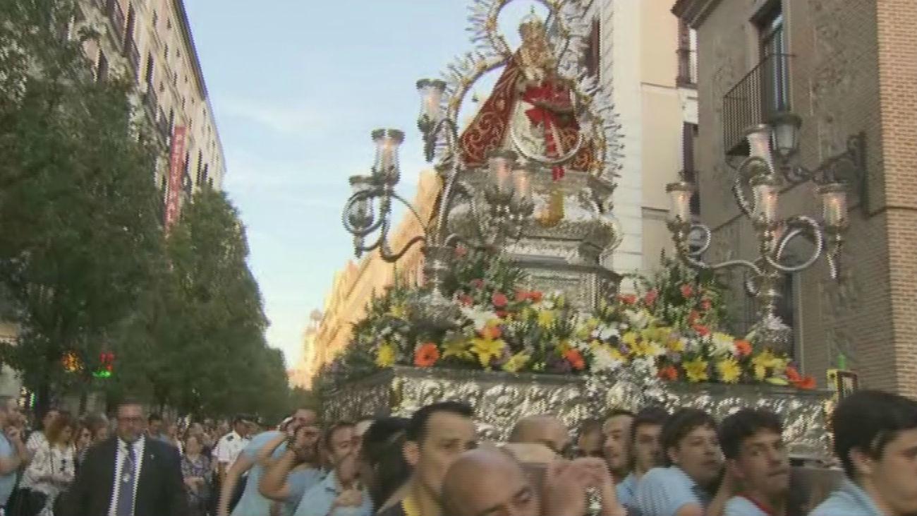 La Virgen de la Cabeza procesiona desde San Ginés