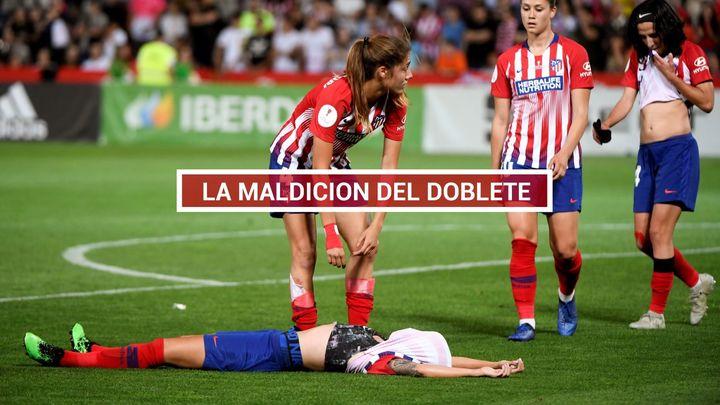 1-2. El Atlético Femenino se queda sin doblete
