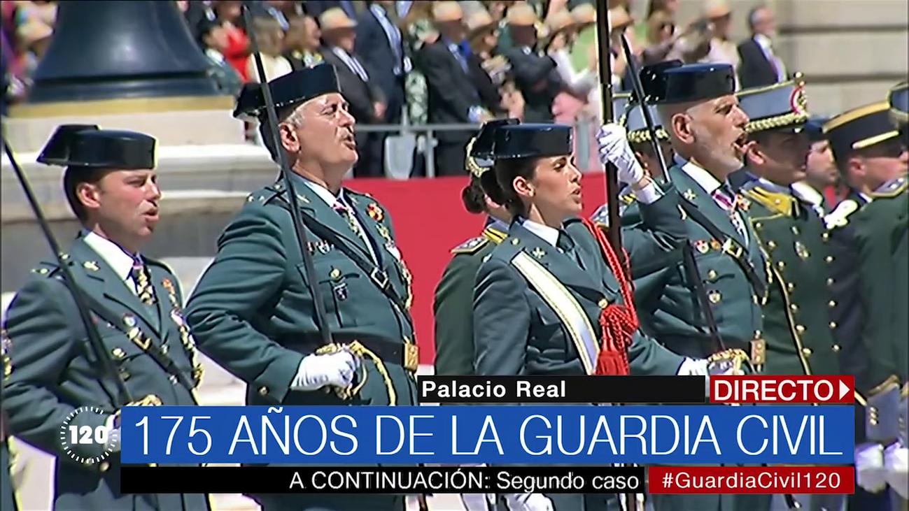 La Guardia Civil celebra su 175 aniversario con un acto en el Palacio Real