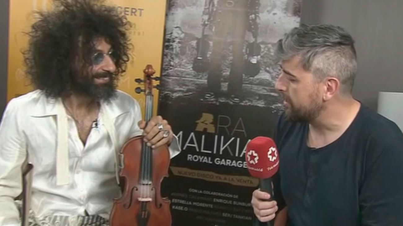 El  violinista Ara Malikian presenta nuevo disco y gira mundial