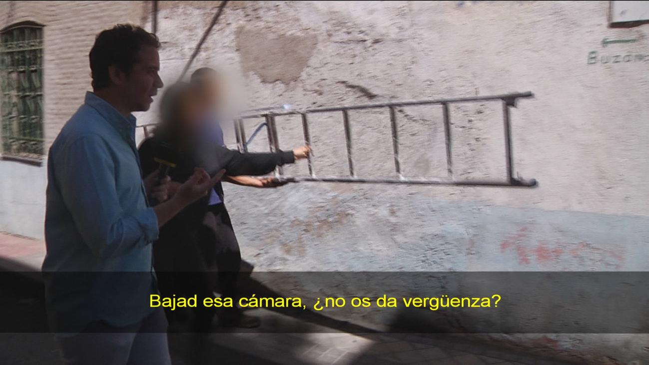 ¿Tapadera okupa en Tetuán?