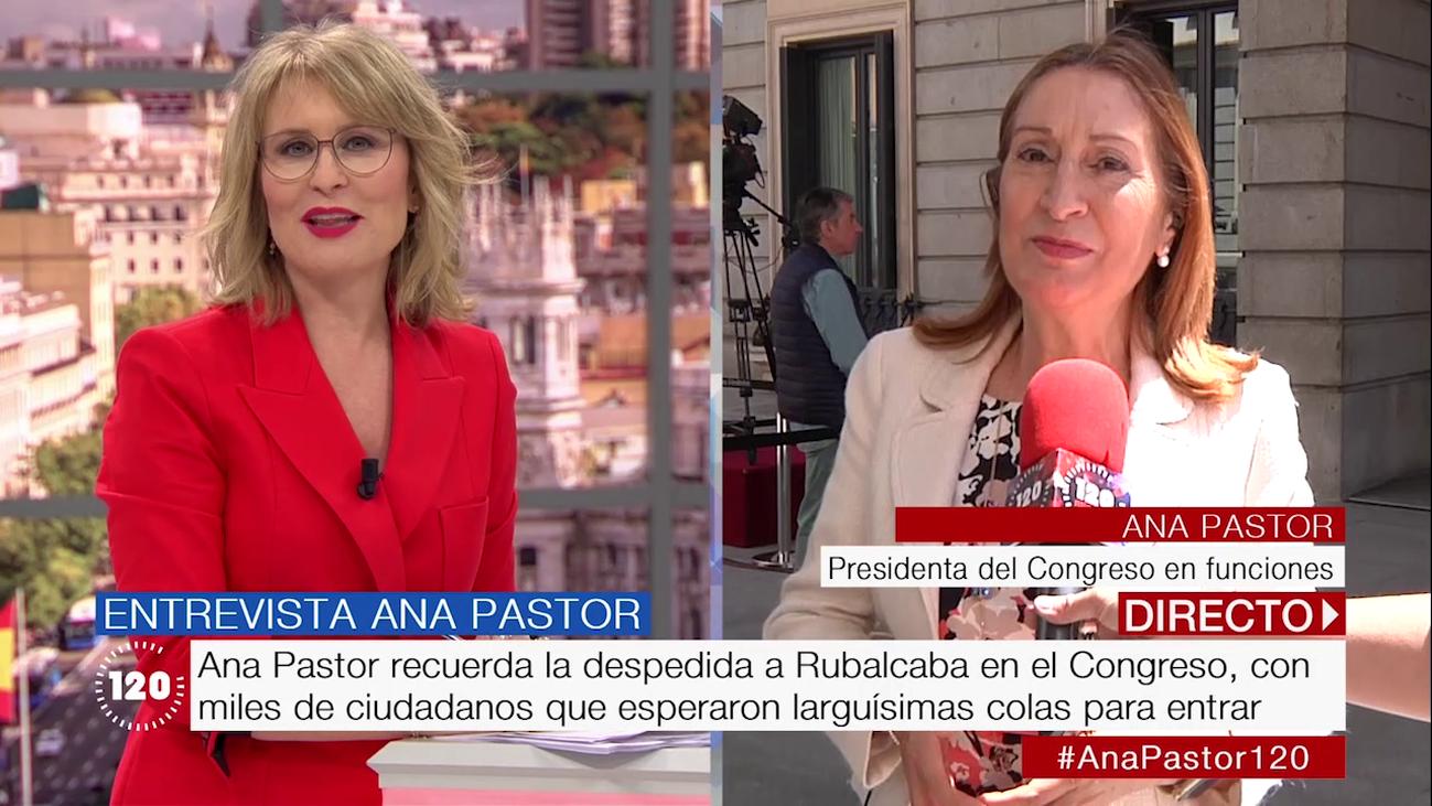 """Ana Pastor: """"Voy a seguir defendiendo desde la oposición los intereses de los españoles"""""""