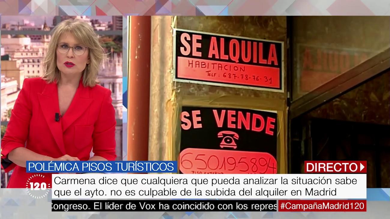 Varapalo judicial a la moratoria de los pisos turísticos de Manuela Carmena