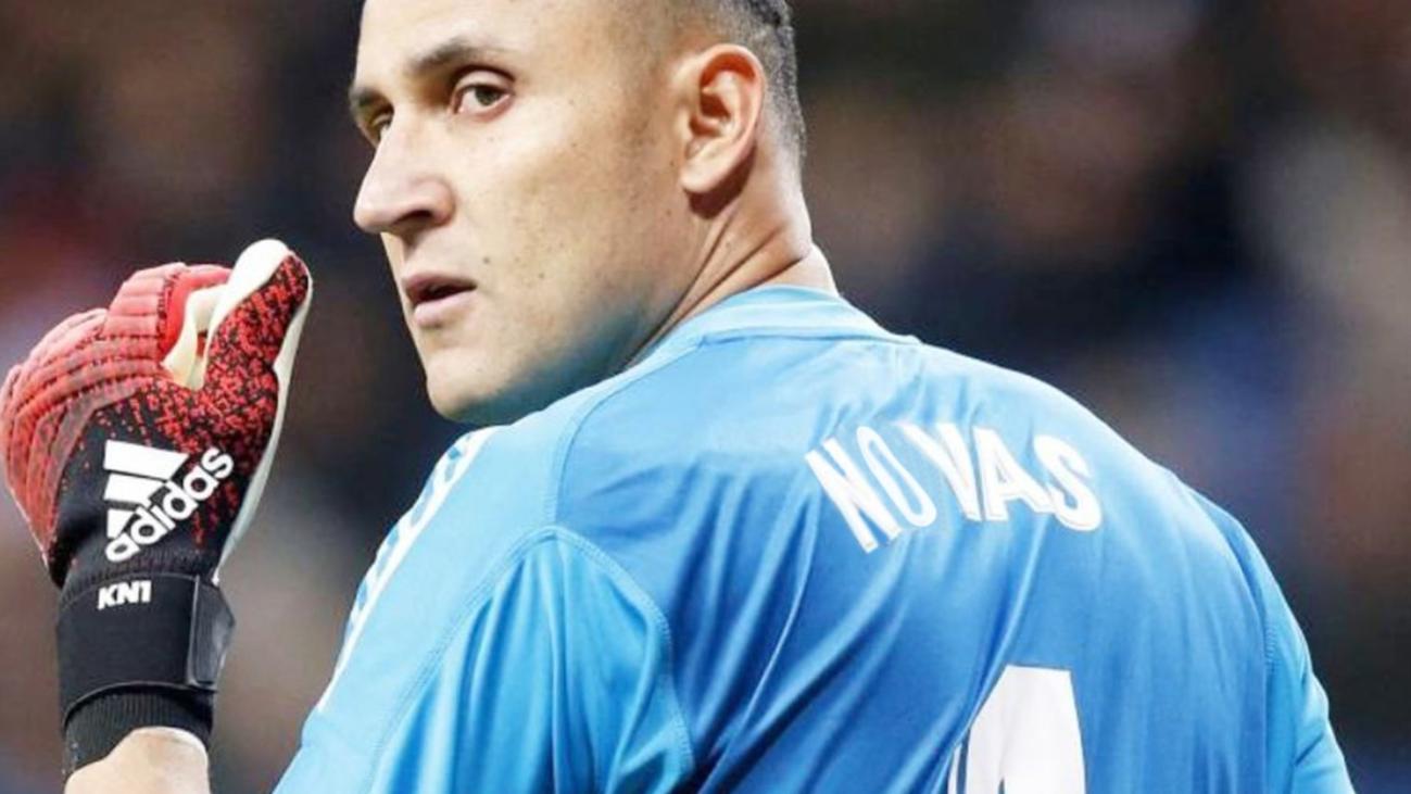El Real Madrid comunica a Keylor Navas que no cuenta con él