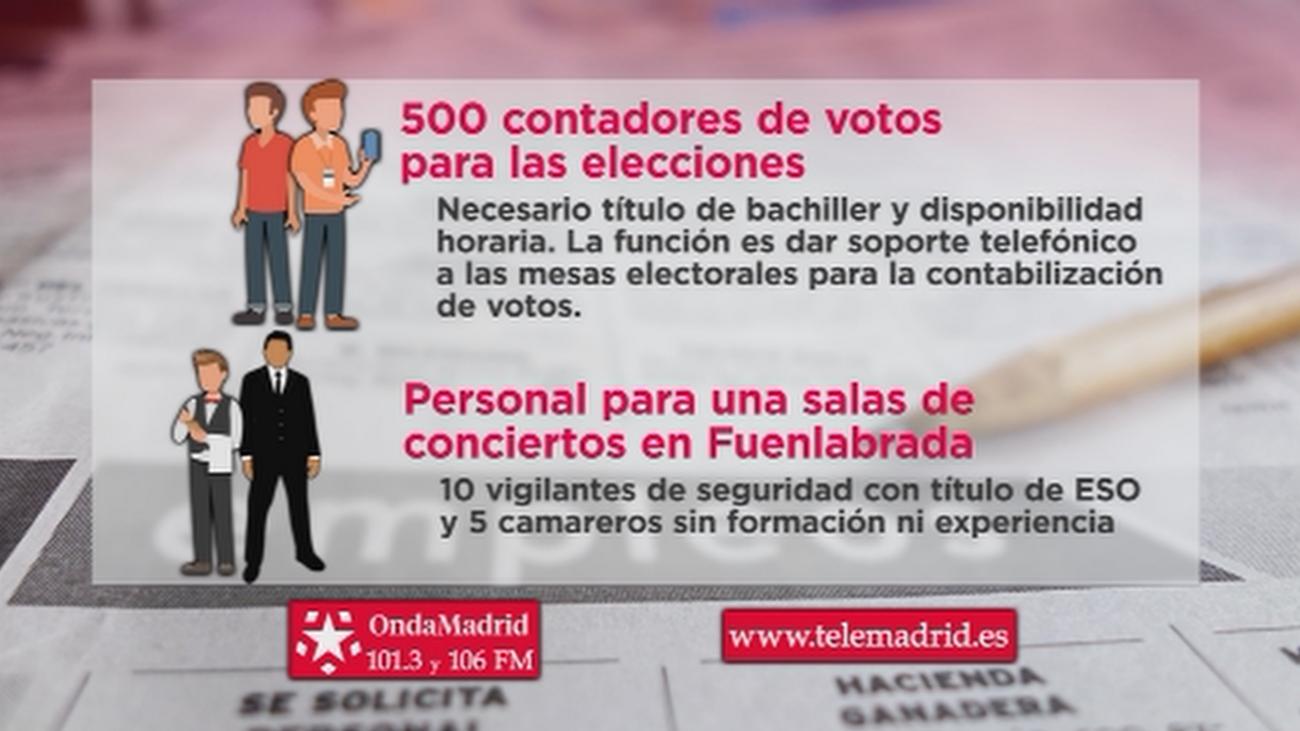 Se buscan 500 contadores de votos para las elecciones del 26 de mayo