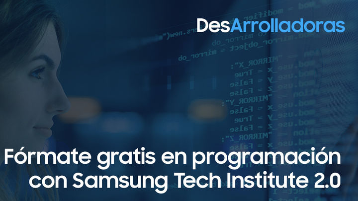Samsung formará a mil mujeres como programadoras informáticas
