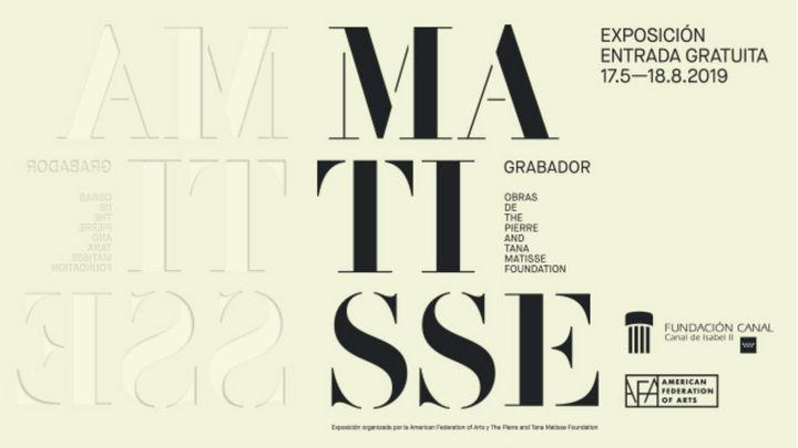 Las líneas maestras de Matisse, en la Fundación Canal