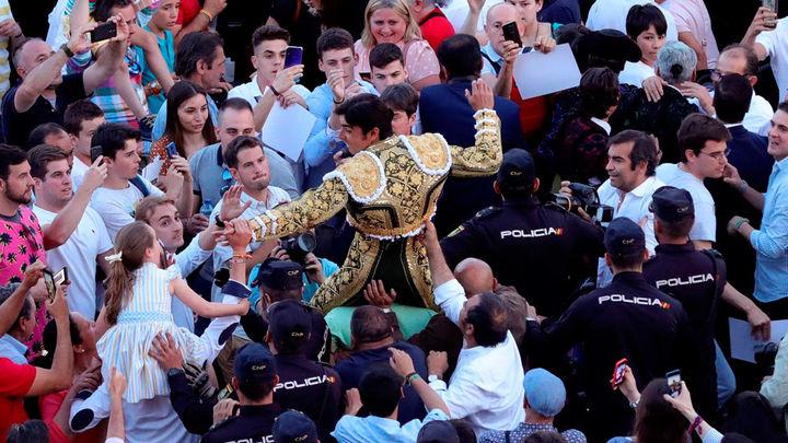 Miguel Ángel Perera conquista su sexta Puerta Grande en Las Ventas el día de San Isidro