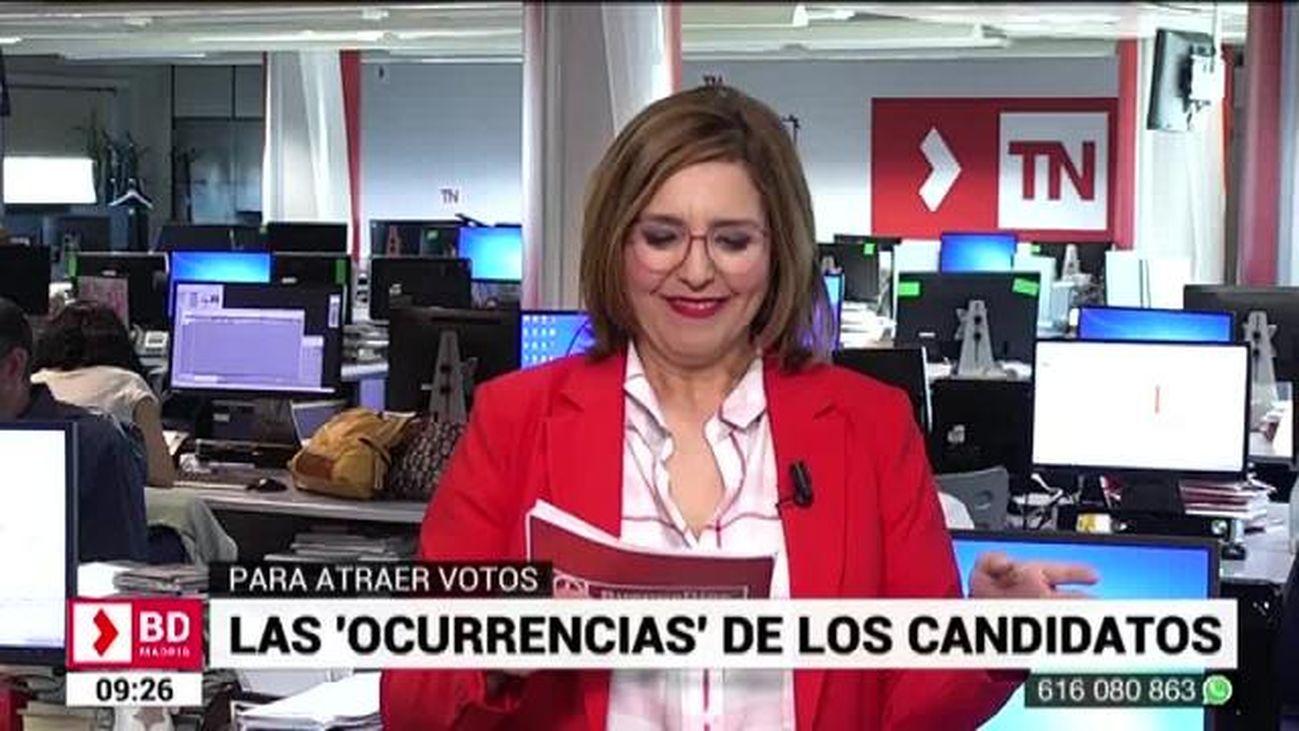Buenos Días Madrid (8:30 - 10:30) 16.05.2019