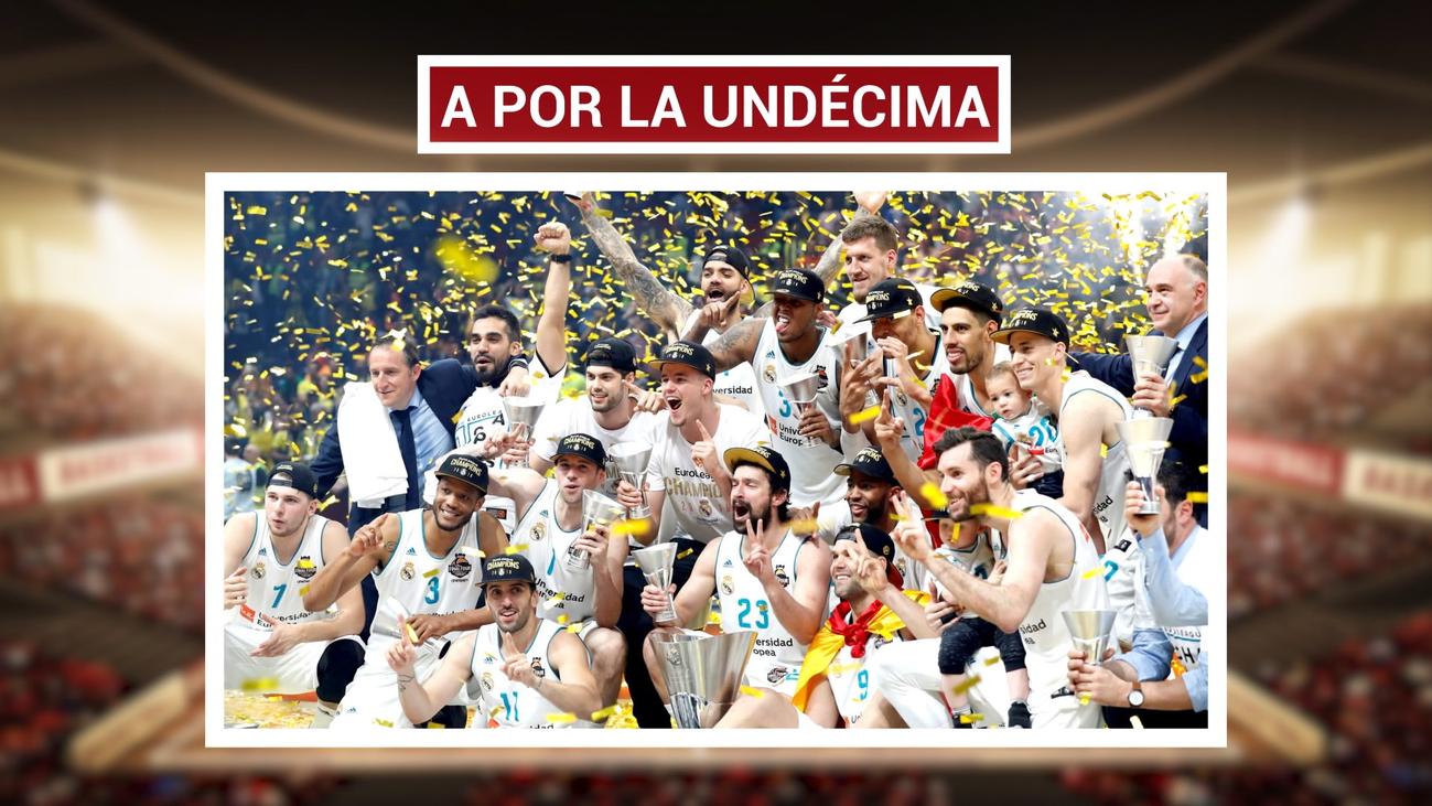 El Real Madrid busca su 'Undécima' Euroliga