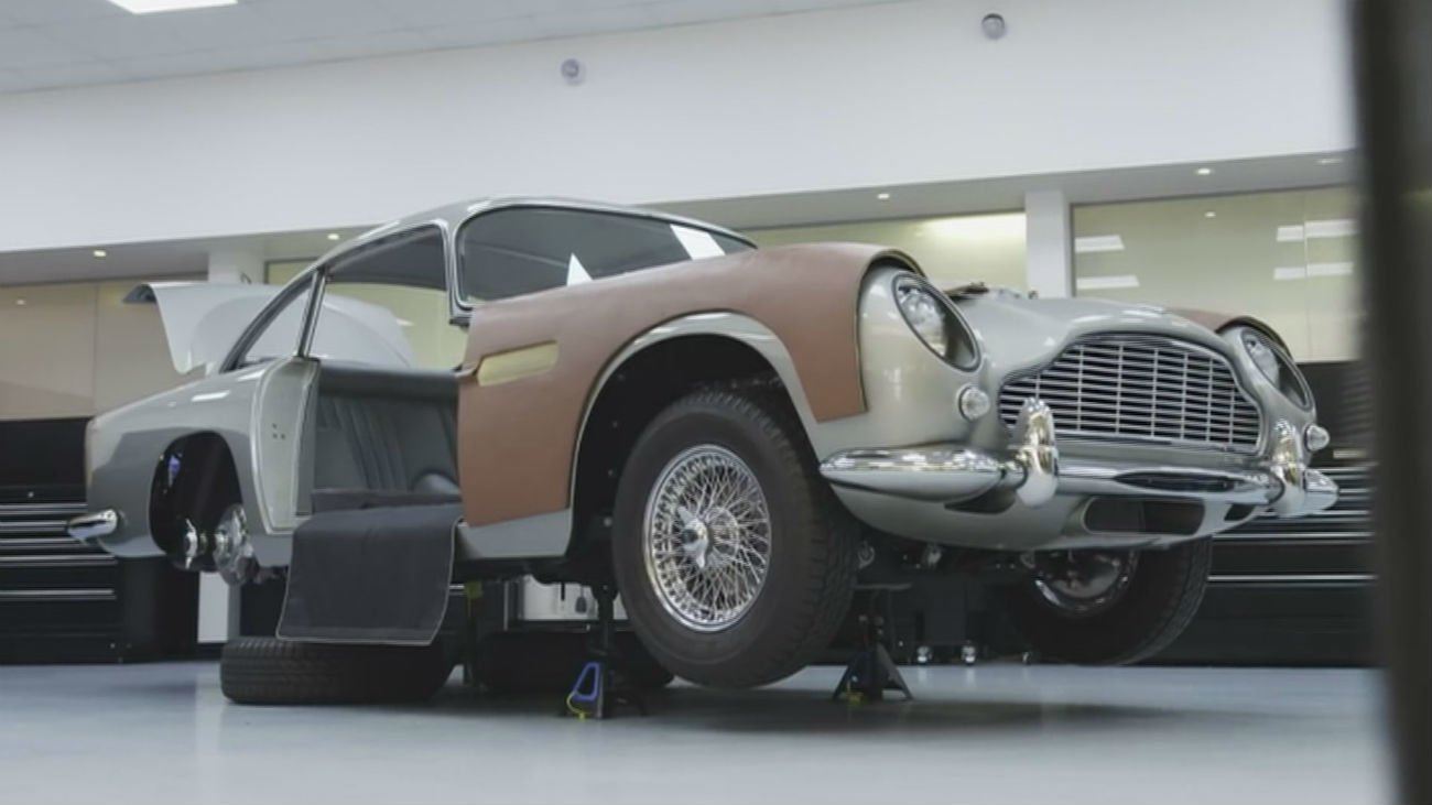 A la venta 25 Aston Martin como los del mítico James Bond