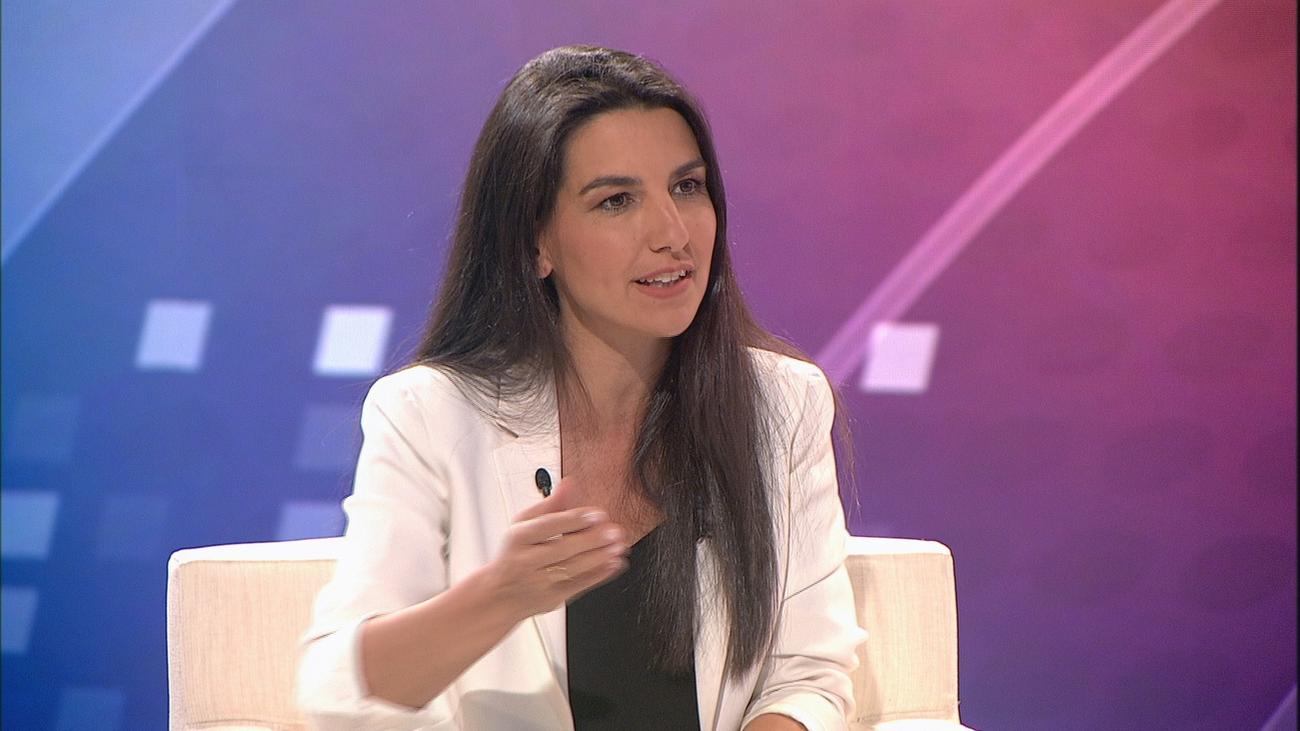"""Rocío Monasterio: """"Venimos a exigir y saber qué subvenciones se dan a la inmigración ilegal en Madrid"""""""