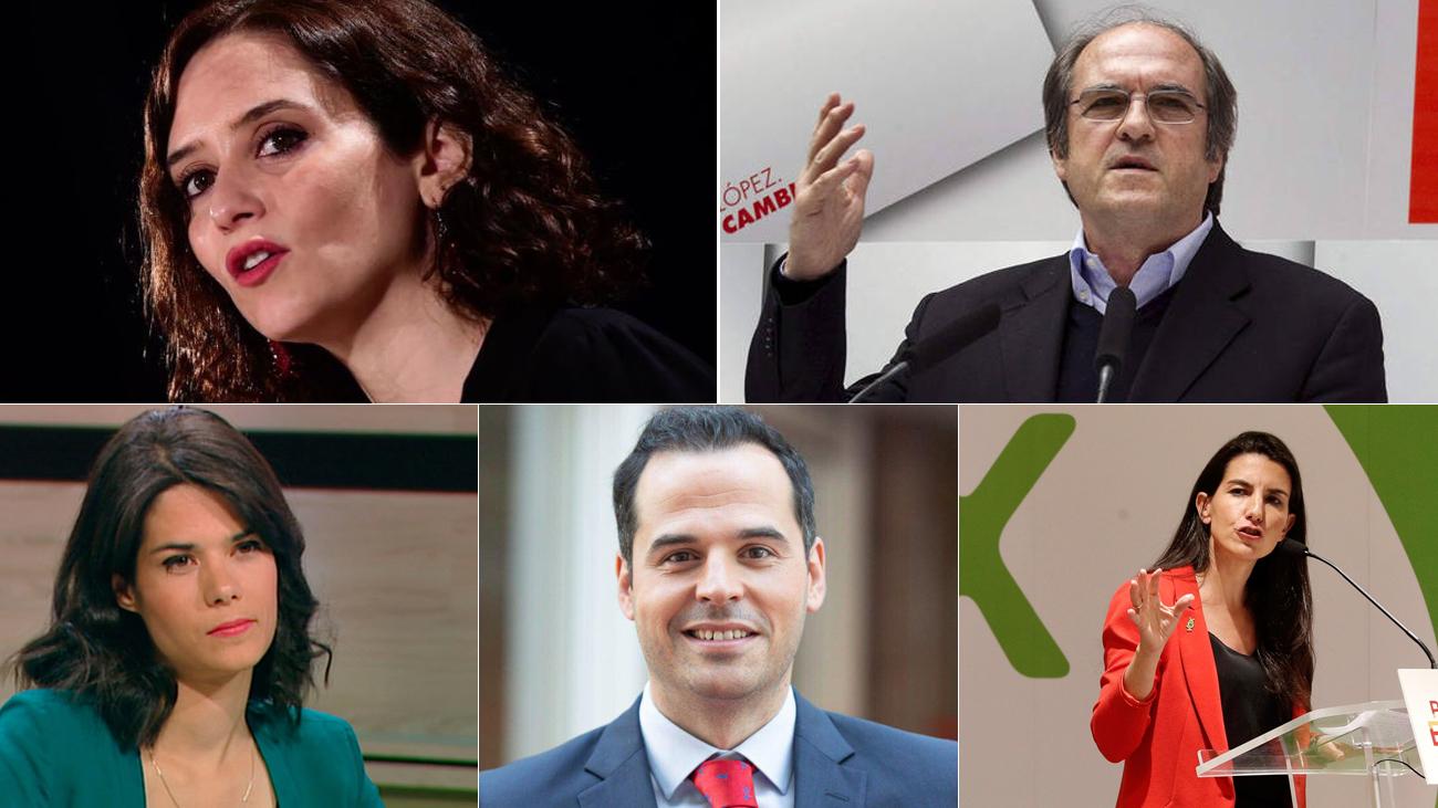 ¿Cómo están preparando los candidatos de la Comunidad el debate decisivo en Telemadrid?