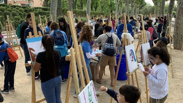 Un total de 517 niños en situación de vulnerabilidad participan en una jornada lúdica en Madrid